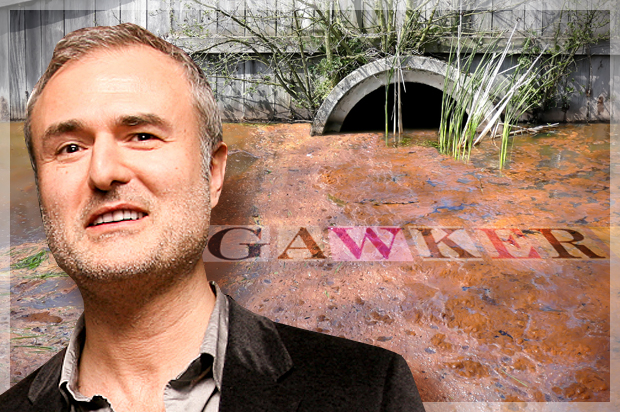 Nick Denton proprietário do Gawker falando ao New York Times