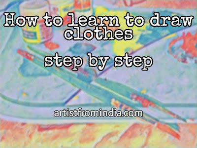 How To Learn To Draw Clothes Step By Step