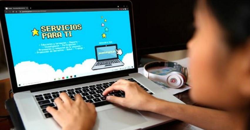 SENAJU facilita el acceso a más de 100 servicios estatales para jóvenes desde su sitio web