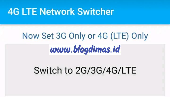 Cara Lock 4G Di HP Samsung