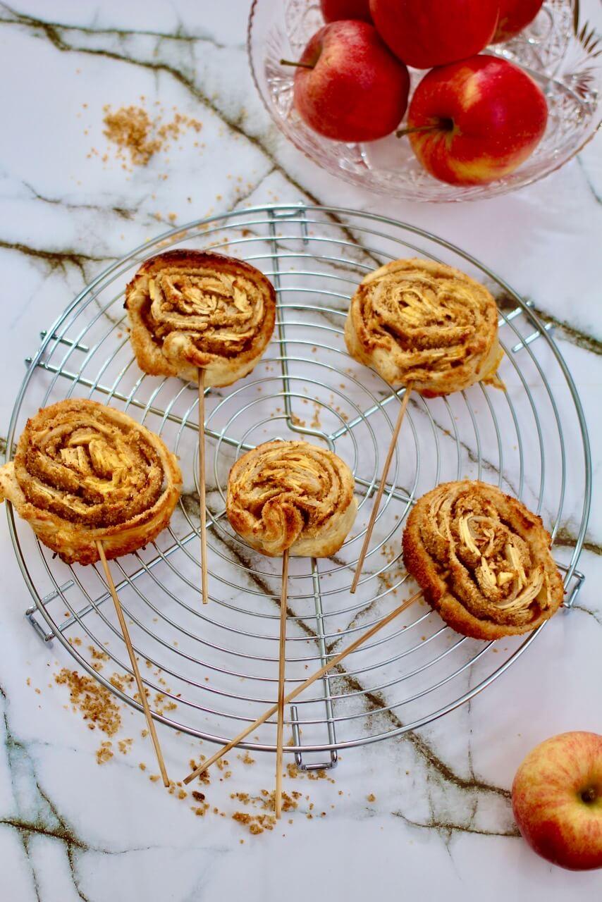 Apfelstrudel Lollies