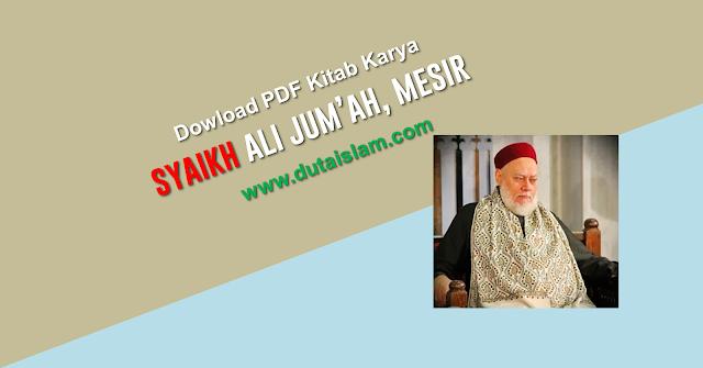 biografi syaikh ali jumah mesir grand mufti