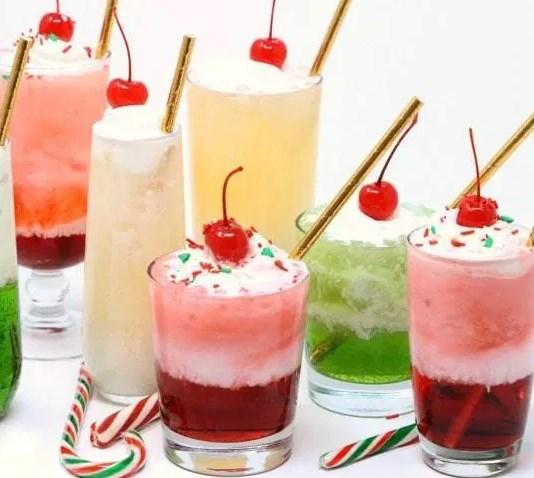 CHRISTMAS CREAM SODAS #drinks #mocktail