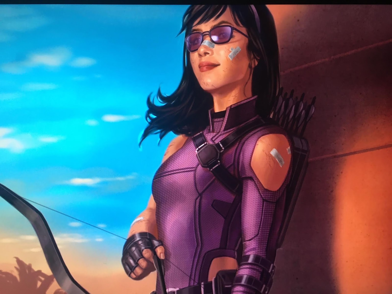Hawkeye y Kate Bishop series Marvel Disney+