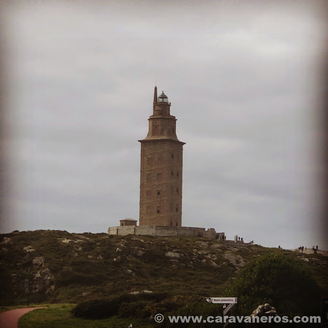Torre de Hércules | Camino de Santiago en autocaravana
