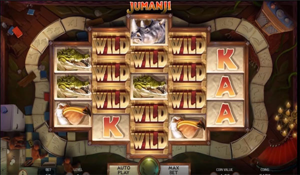 Main Gratis Slot Indonesia - Jumanji NetEnt