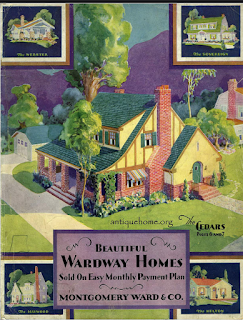 1929 Wardway catalog Cedars model
