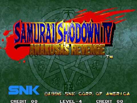 Samurai Shodown IV - Amakusa's Revenge / Samurai Spirits - Amakusa Kourin (Special 2017, hack) [Hack]