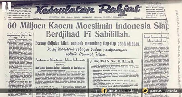 Inilah Teks Lengkap Resolusi Jihad KH Hasyim Asy'ari