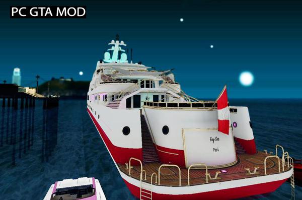 Free Download GTA V YACHT Mod for GTA San Andreas.