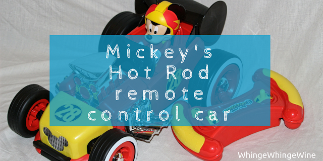Mickey and the Roadster Racers: Hot Doggin' Hot Rod remote control car review