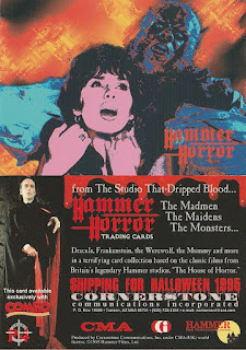 Hammer Horror promo card