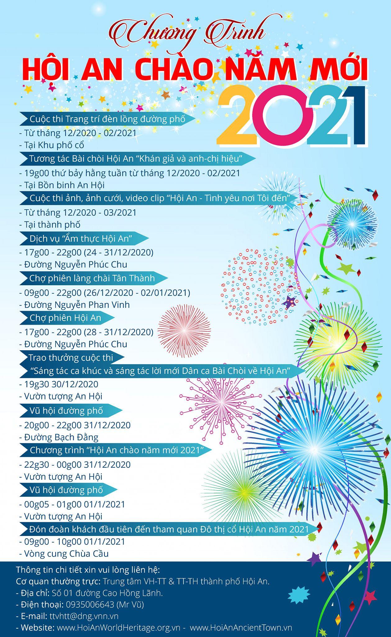 Địa điểm vui chơi năm mới 2021 tại Đà Nẵng, Hội An