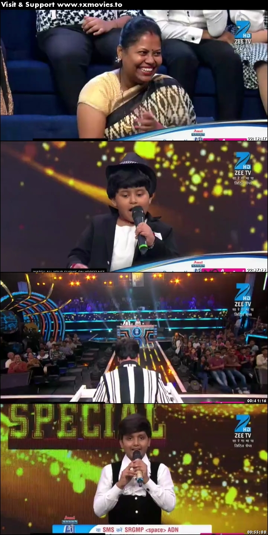Sa Re Ga Ma Pa Lil Champs 18 June 2017 HDTV 480p 250MB