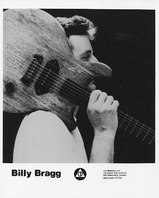 Billy Bragg photo courtest of CD Presents