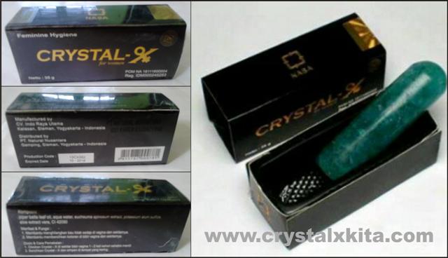 gambar kemasan crystal x asli terbaru