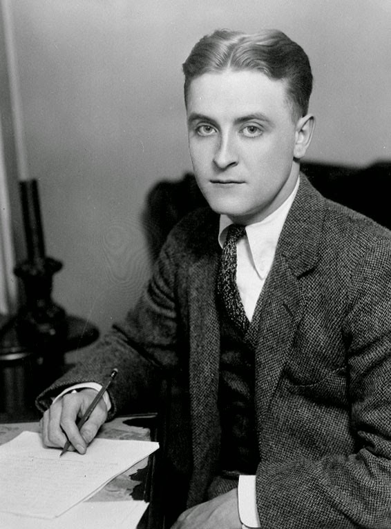 Photo of F Scott Fitzgerald. Image source: http://upload.wikimedia.org/wikipedia/commons/5/5c/F_Scott_Fitzgerald_1921.jpg