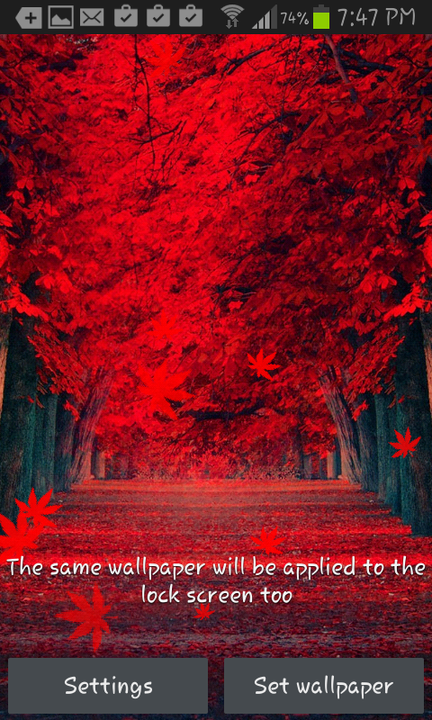 Falling Leaves Hd Live Wallpaper Apk Top 5 Android Live Wallpaper Free Download March 2015