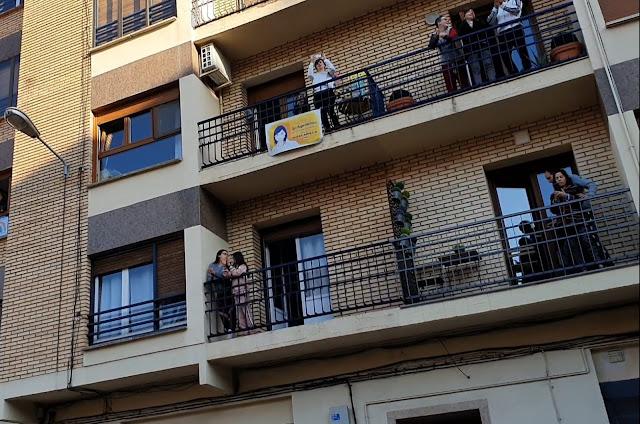 Un homenaje a la iniciativa privada ante el coronavirus: el sábado 28 de marzo a las 18h, aplausos en nuestros balcones por las empresas y trabajadores de Arnedo ¡¡ pásalo !!