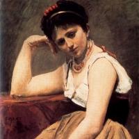 'La lectura interrompuda (Jean-Baptiste Camille Corot)'