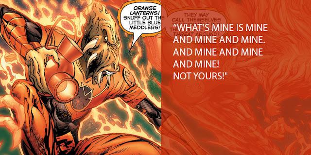 oaths bunyi sumpah orange lantern corps
