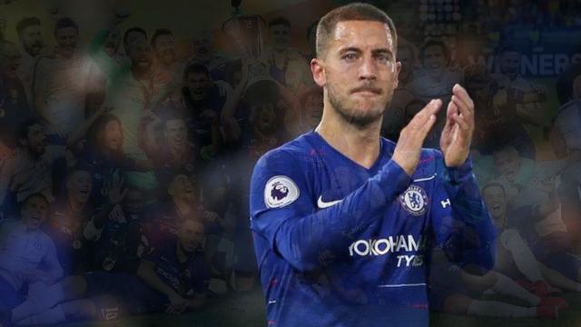 Akhir Manis Hazard di Chelsea