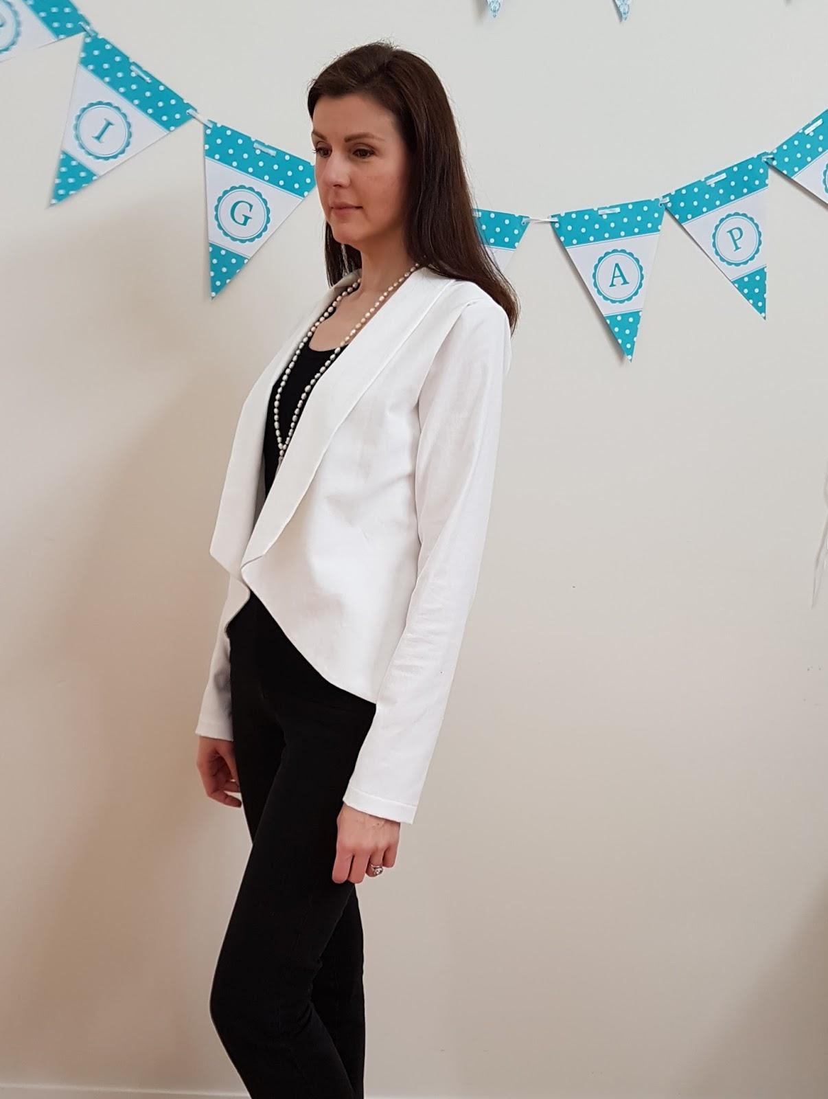 The Tall Mama: Bespoke Blazer Review / Pattern Test