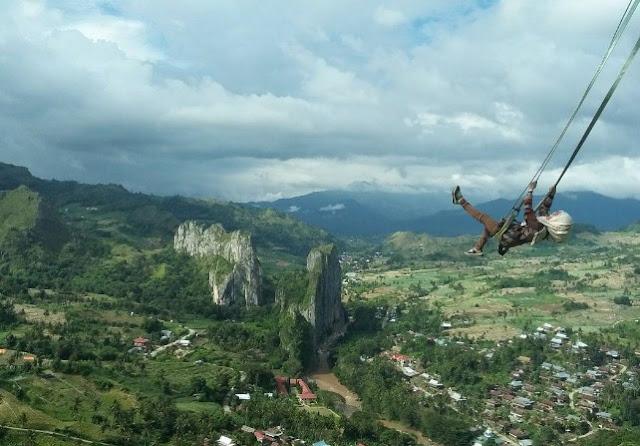 Tempat Wisata Bukit Cekong di Sulawesi Selatan