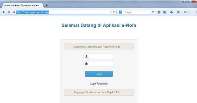 Syarat Permintaan Nomor Seri Faktur Pajak Secara Elektronik e-Nofa Online