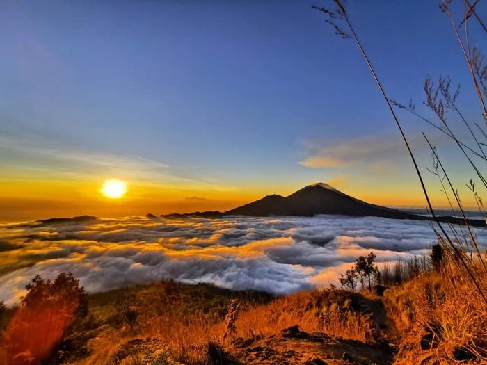 Objek Wisata Gunung Batur di Bali