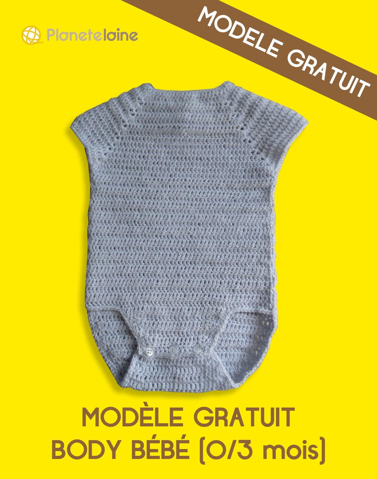 Tuto Crochet Gratuit Le Body De Bebe