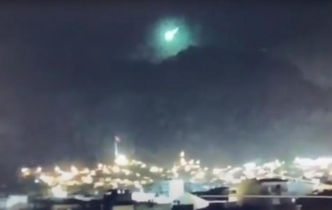 Осяяв небо: у Туреччині, де вирують лісові пожежі, впав метеорит (відео)