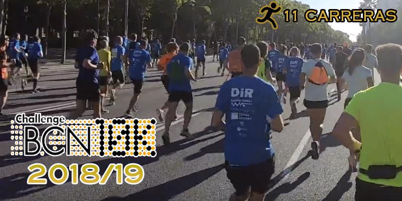 ChallengeBCN10K 2018/19 - 11 carreras