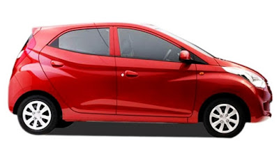 Hyundai EON Hatchback side look