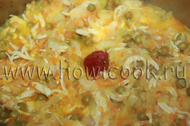 рецепт тушеной капусты как в садике с пошаговыми фото