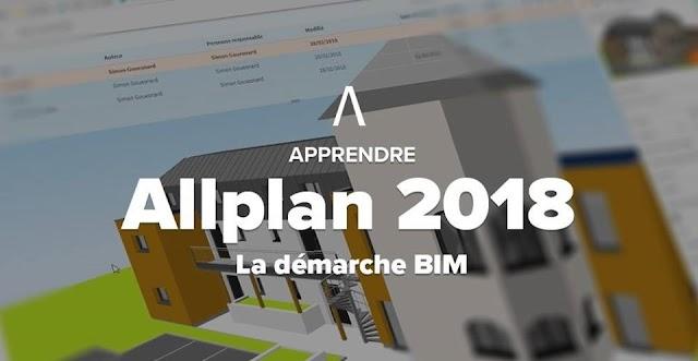 Apprendre Allplan 2018 - La démarche BIM