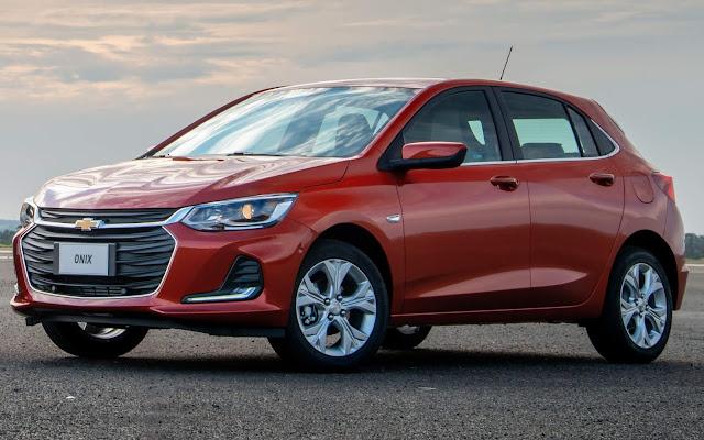 Os carros mais vendidos do Brasil - setembro de 2019 - quinzena