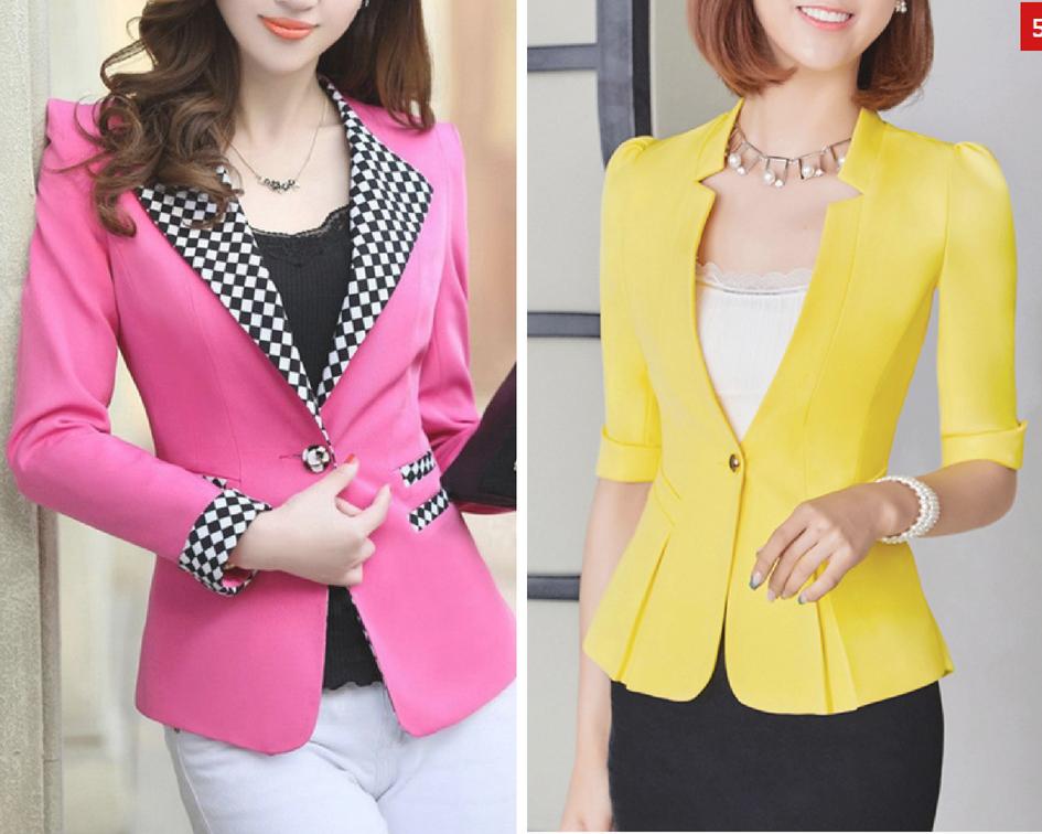 Onde comprar blazer colorido - FashionMia