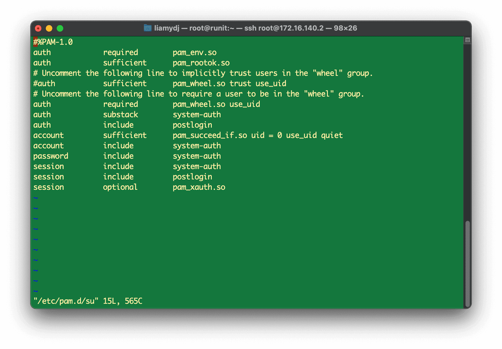 [LINUX] 리눅스 사용자 계정 관리하기