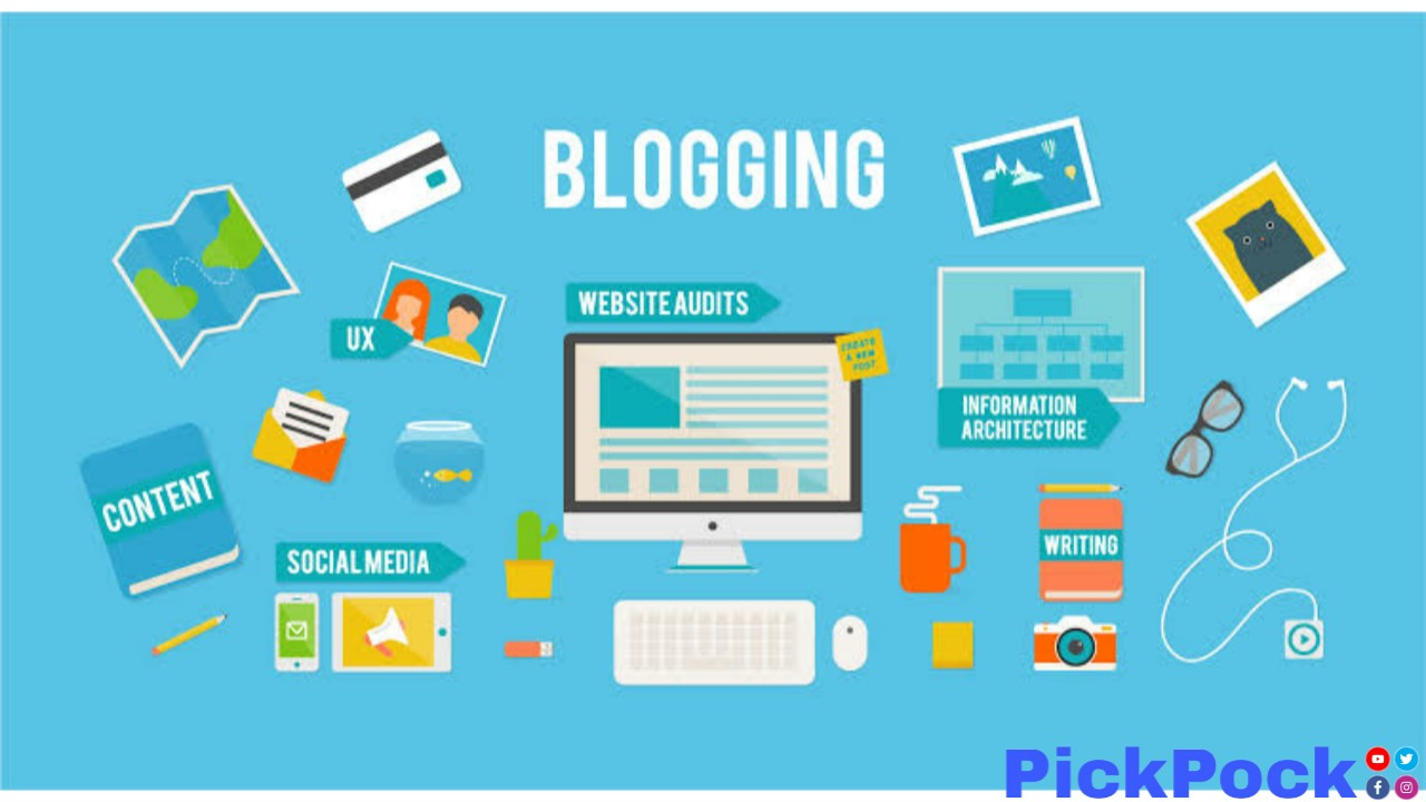 PickPock, PickPock.co.in, How much earn from blogging, and how much long time to earn from blogging - PickPock