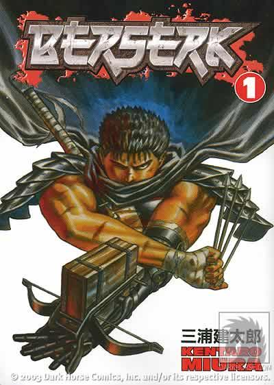 Berserk VOLUMES 01 AO 37 Mangá Torrent (1989) Legendado HQ / Quadrinhos Download