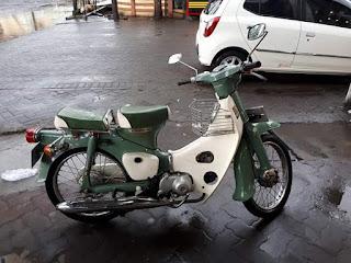 Dijual Honda Pispot 50cc tahun 75