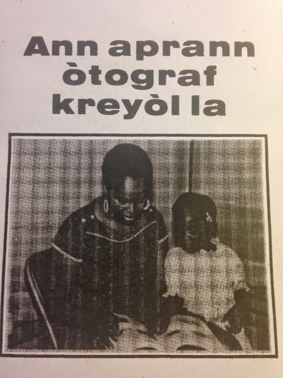 Haitian Creole Aprann Otograf Kreyol La