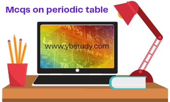 Periodic Classification of Elements Class 10 MCQ Pdf