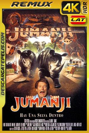 Jumanji (1995) 4k BDRemux HDR Latino – Ingles