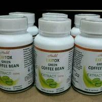 Terlaris Obat pelangsing badan cepat menurunkan berat badan herbal exitox green original asli
