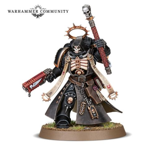 Space Marine Codex Preview: Chaplain and Apothacary