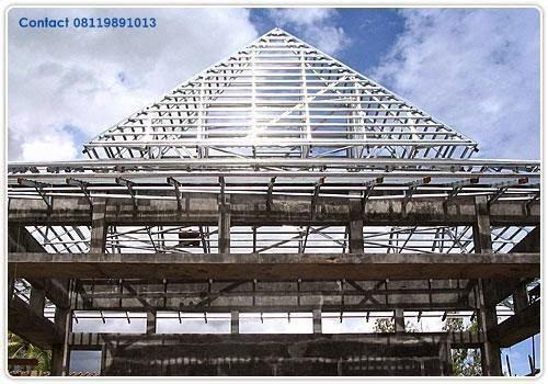atap rumah baja ringan atau kayu 08119891013 pilih rangka