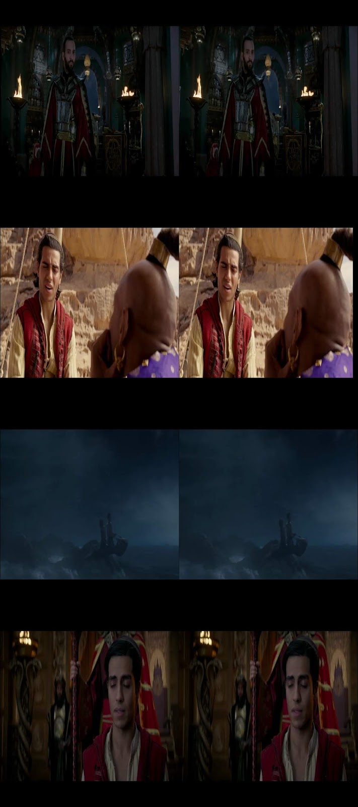 Aladdin (2019) 3D SBS Latino