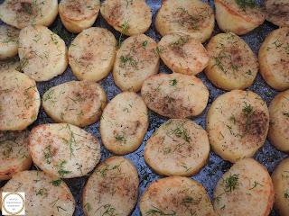 Cartofi la cuptor cu marar reteta,